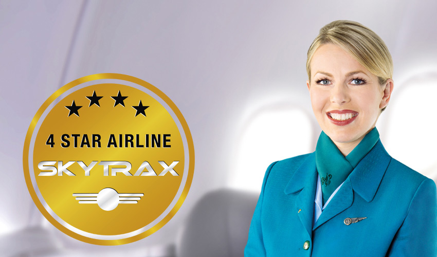 aer lingus skytrax 4 star airline