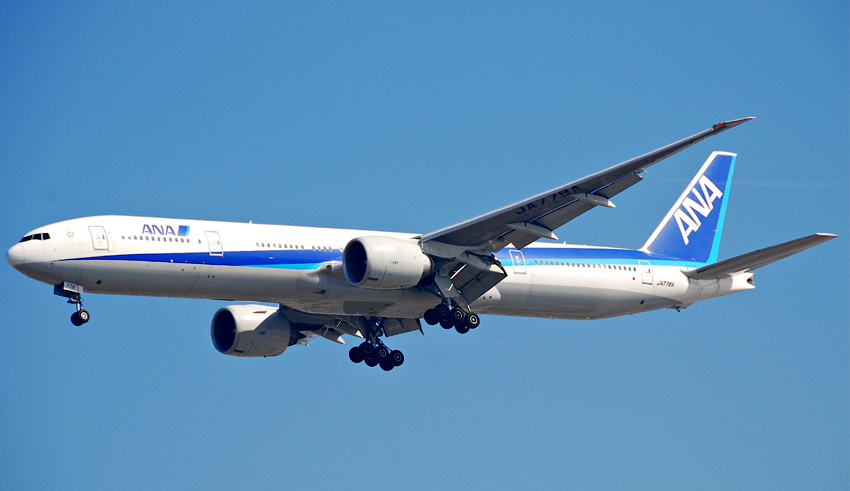ana all nippon airways boeing 777