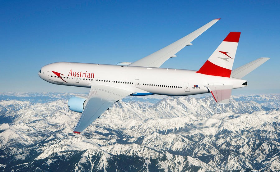 austrian airlines 4 star airline rating skytrax