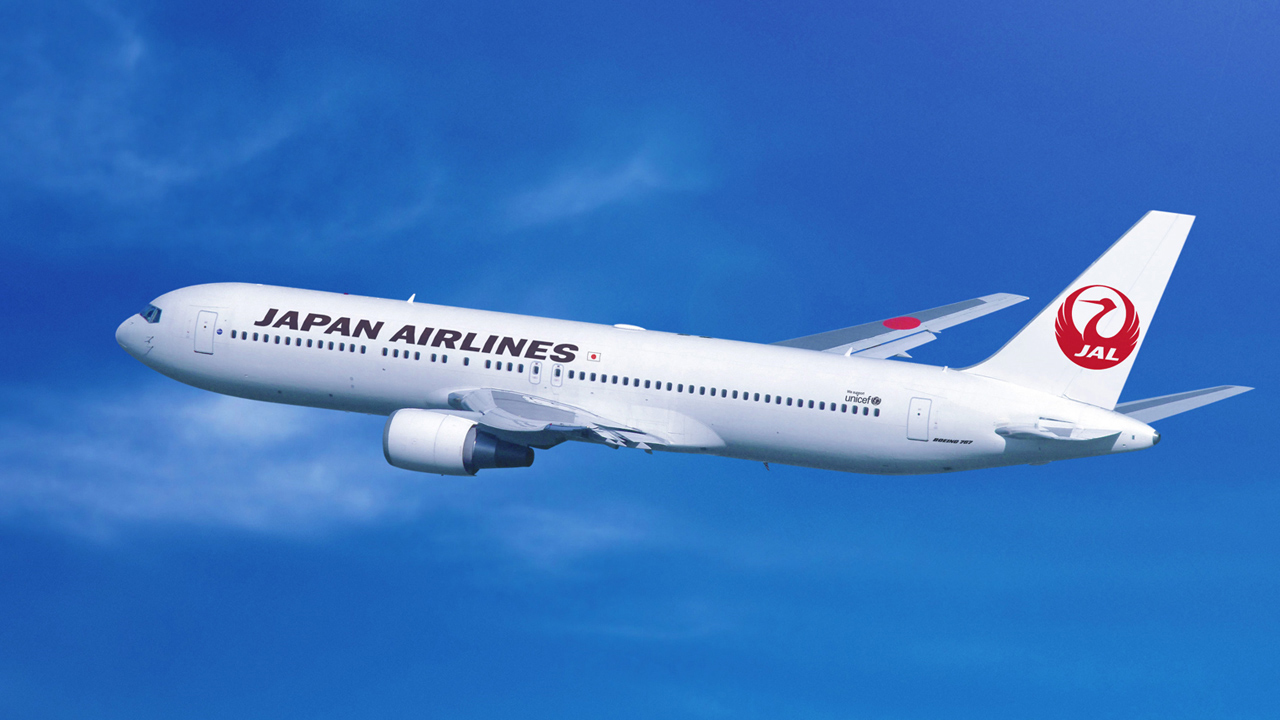japan airlines aircraft