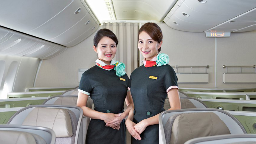 eva air cabin crew business class