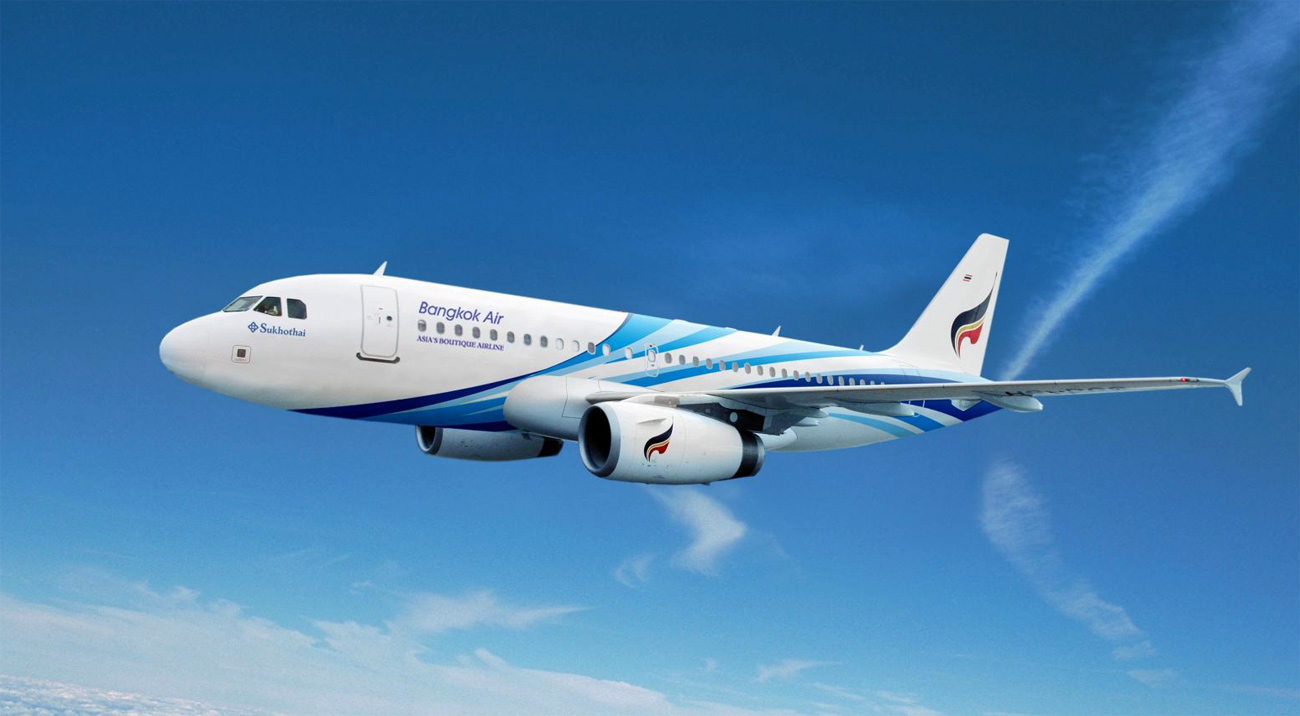 Bangkok Airways is certified as a 4-Star Airline