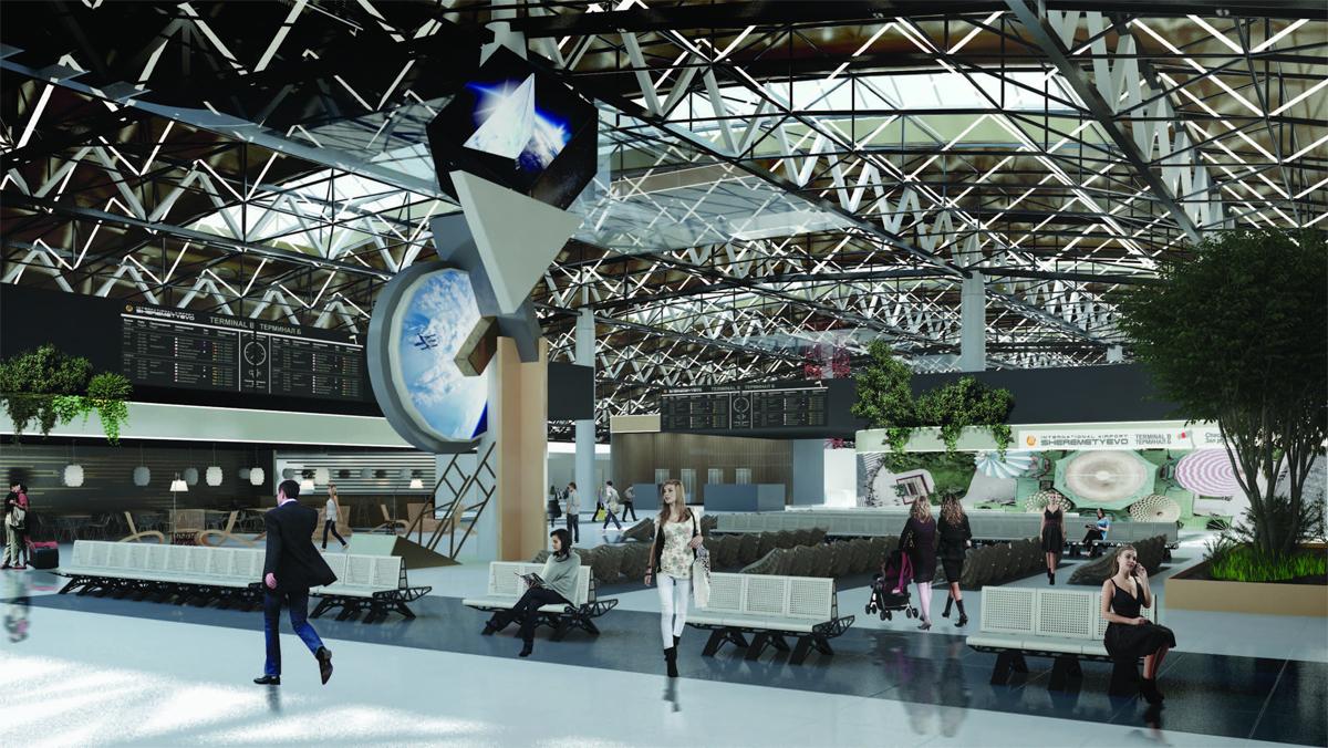 inside sheremetyevo terminal 2 b