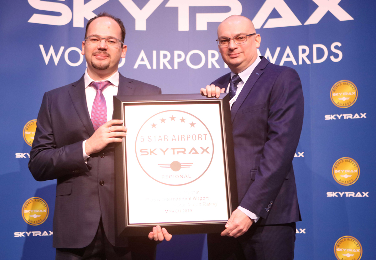 platov airport receive 5-star rating