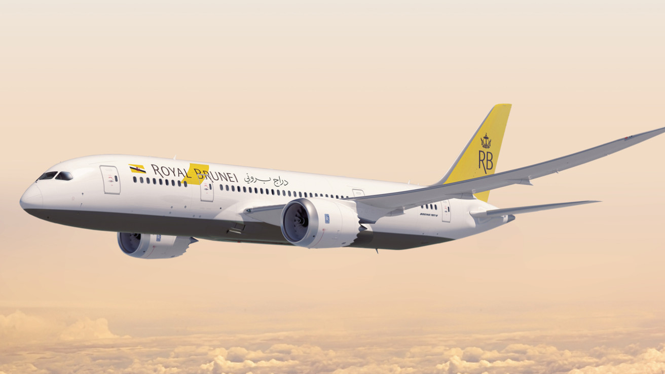 royal brunei airlines boeing 787