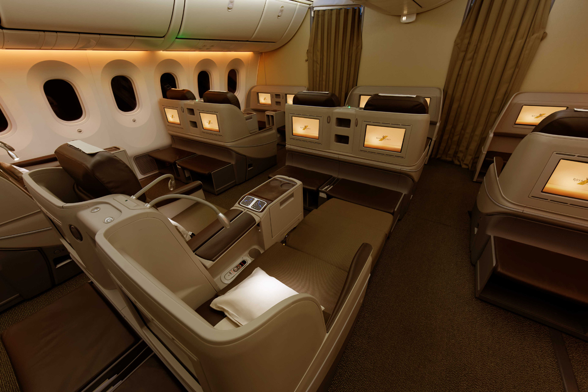 Royal Brunei Airlines is Certified with the 4-Star Airline Rating
