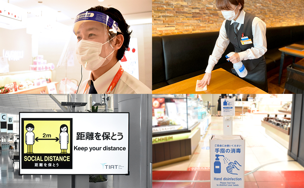 Tokyo Haneda COVID-19 measures