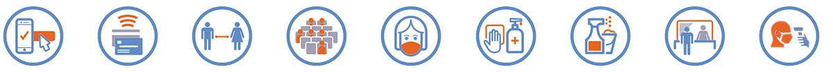 COVID-19 icons