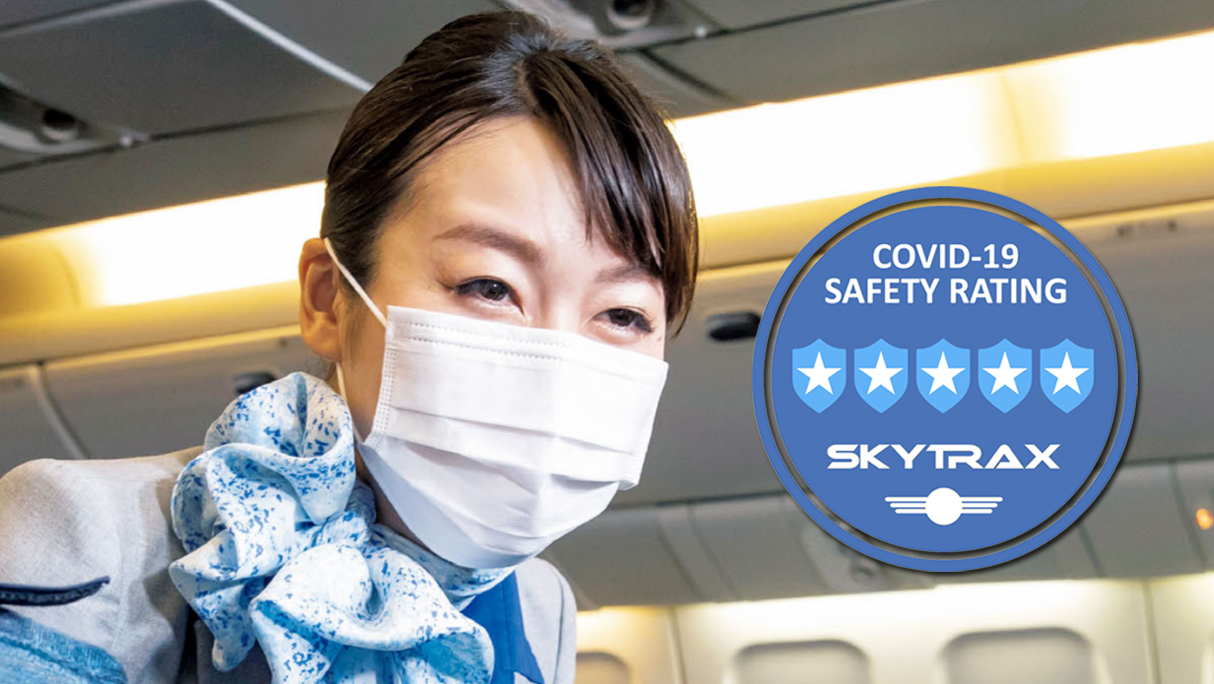 all nippon airways covid-19 5 star safety rating