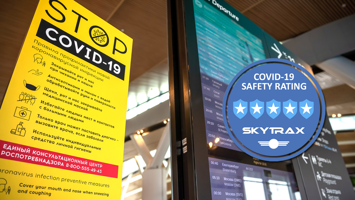 5 star covid-19 airport safety rating