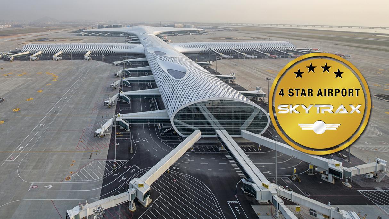 shenzhen international 4 star airport rating